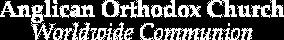 Anglican Orthodox Church International Logo